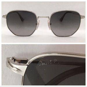 PERSOL Polarized PO2446S Silver /2P Grey Gradient